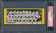 1951 Topps Teams Boston Red Sox Dated PSA 6 EX-MT (Only 3 7's) Williams