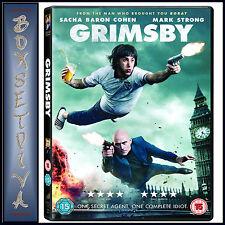 GRIMSBY -  Sacha Baron Cohen *BRAND NEW DVD**