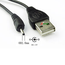 USB-A to DC 5V 2.0mm/0.6mm NOKIA power cable lead for N8 N78 N96 N95 5800 X6