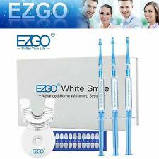 EZGO 44% Teeth Whitening Kit Tooth Bleaching Whitener Professional Gel System