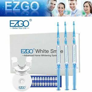 EZGO 44% Teeth Whitening Kit Tooth Bleaching Whitener Dental Professional Gel