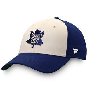 Men's Toronto Maple Leafs Fanatics Branded Cream/Blue True Classics Snapback Hat
