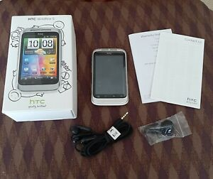 HTC Wildfire S White  Unlocked  VGC
