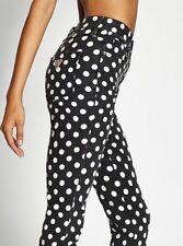 New Womens GUESS 3-Zip High-Rise Crop Jeans SZ 23 Originals Collection PolkaDots