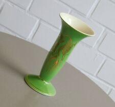 FS STAS Porzellan Vase Tischvase Blumenvase Golddekor Drachenmotiv 50er Jahre