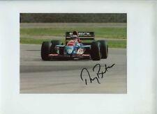 Thierry Boutsen Jordan 193 F1 Season 1993 Signed Photograph 3