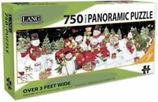 SNOW DAY - LANG ART - 750 PIECE PANORAMIC PUZZLE - BRAND NEW - 5041017