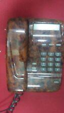 TELEFONO FISSO COLORE LEGNO CASA UFFICIO BCA TELECOM SIP SIRIO VINTAGE GUASTO