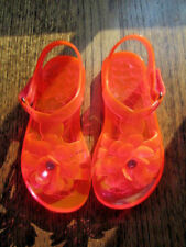 EUC Toddler Girls THE CHILDREN'S PLACE Flower Jelly Sandals 9