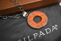 Silpada N1564 Sponge Coral Necklace .925 Sterling Silver