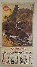 Remington UMC 1921 Reproduction Calendar