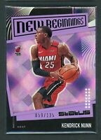 2019-20 KENDRICK NUNN 059/125 PANINI STATUS NEW BEGINNINGS