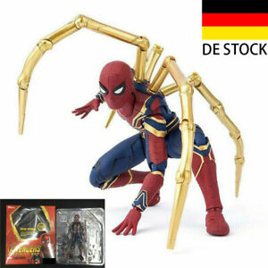Marvel SpiderMan Figur Modell Spider-Man Action Figure Homecoming PVC Spielzeug