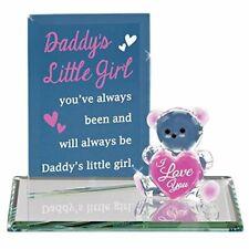 Glass Baron ~ Daddy's Little Girl Glass Figurine