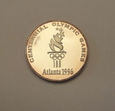 1996 Atlanta Olympic Games - RARE - 999 Silver Proof Medal - 1000 made -