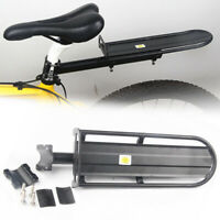 Sturdy Bicycle Mountain Bike Rear Rack Seat Post Mount Luggage Carrier Rear Rack