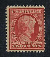 CKStamps: US Stamps Collection Scott#369 2c Mint H OG Bluish Spot Thin CV$150