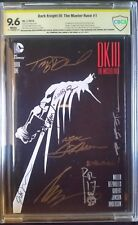 Dark Knight III Master Race (2015) #1  CBCS SS 9.6  9x Azzarello Rossmo +7 more