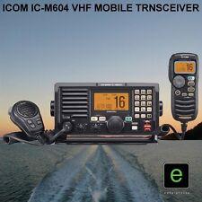 ICOM IC-M604 MARINE WATERPROOF VHF MOBILE 25W TRANSEIVER IPX7