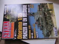 ** STEEL MASTERS n°86 Du Crusader au Sherman / PANZER II AUSF.C / BTR-60 / SAM-6