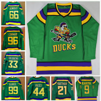 The Mighty Ducks Movie #96 #99 Jersey All Numbers Ice Hockey Jerseys Stitched