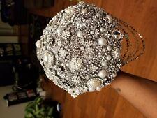 Wedding bouquet brooches crystal