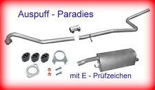 Auspuffanlage Auspuff Abgasanlage Mazda 2 (Typ DY) 1.4 CD bis Bj. 06/2007 + Kit