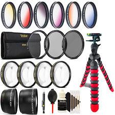 52mm Top Professional Lens Kit + Tripod for Nikon D5300 D5200 D5100 D5000 D7000
