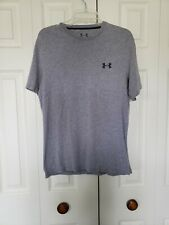 UNDER ARMOUR MENS SIZE SMALL LOOSE FIT CHARGED COTTON ATHLETIC  TEE