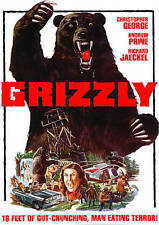Grizzly DVD 1976 Horror Gore Christopher George Cult Thriller