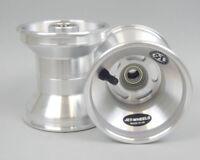 Jet Wheel Front Silver 130mm  x 1 UK KART STORE