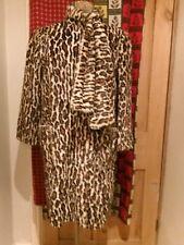 ORIGINAL 50's 60's VINTAGE COAT Leopard Skin PRINT