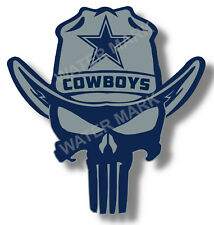 5219eee8 Dallas Cowboys Punisher NFL Sticker, Decal Vinyl Truck Car window Pro  football