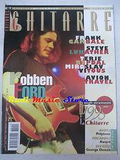 rivista CHITARRE 119/1996 Robben Ford Steve Lukather Avion Trtavel  No cd