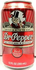 FULL NEW 12oz Can American Dr. Pepper 125th Anniversary Limited Edition USA 2010