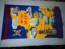 "Clearance ! Cotton Printed Home Beach Towel Latin America Ruta Maya 39""  x 67"""