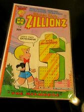 Richie Rich Zillionz #6 Harvey 1977 BAGGED BOARDED~