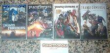 TRANSFORMERS La Serie Completa in 4 DVD Separati  Paramount Usati COME NUOVI