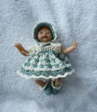 "Crochet  dolls clothes to fit  4.5"" Ashton Drake heavenly handfuls"