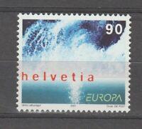 s36404 SWITZERLAND 2001 EUROPA CEPT MNH** 1v ACQUA