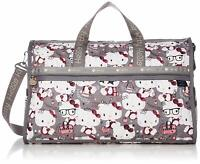 Hello Kitty LeSportsac 45th Sanrio limited LARGE WEEKENDER travel Bag F/S Japan