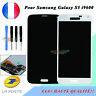 Pour Samsung Galaxy S5 i9600 SM-G900F Écran LCD Tactile Vitre Noir Blanc Display