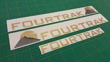 Daihatsu Fourtrak Decals stickers graphics 2.8 tdi tdx
