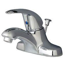 "Classic Bathroom Vanity Sink 4"" Centerset Lavatory Faucet Chrome"