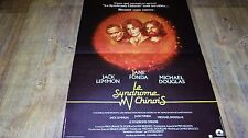 LE SYNDROME CHINOIS ! affiche cinema 1979