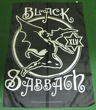 BLACK SABBATH  TEXILE POSTER FLAG  RARE NEW NEVER OPENED OZZY OSBOURNE XLV ANIV