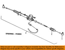 GM OEM-Rack And Pinion Complete Unit 25956924