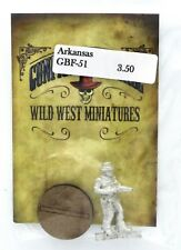 Knuckleduster GBF51 Arkansas (Gunfighter's Ball) Old West Gunslinger w/ Shotgun