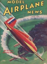 Model Airplane News April 1938 The Grumman Mid-Wing Fighter 062217nonDBE