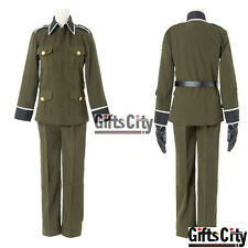 Axis Powers Hetalia Ludwig Germany Uniform Cosplay Costume COS Cloth